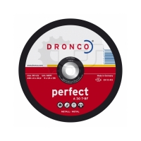 Круги шлифовальные по металлу Dronco