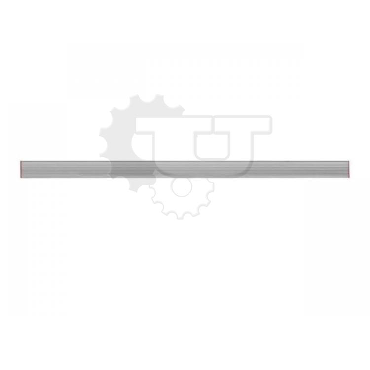 """Правило ЗУБР """"МАСТЕР"""" алюминиевое, прямоугольный профиль с ребром жесткости, 1,0м - 4,0м"""