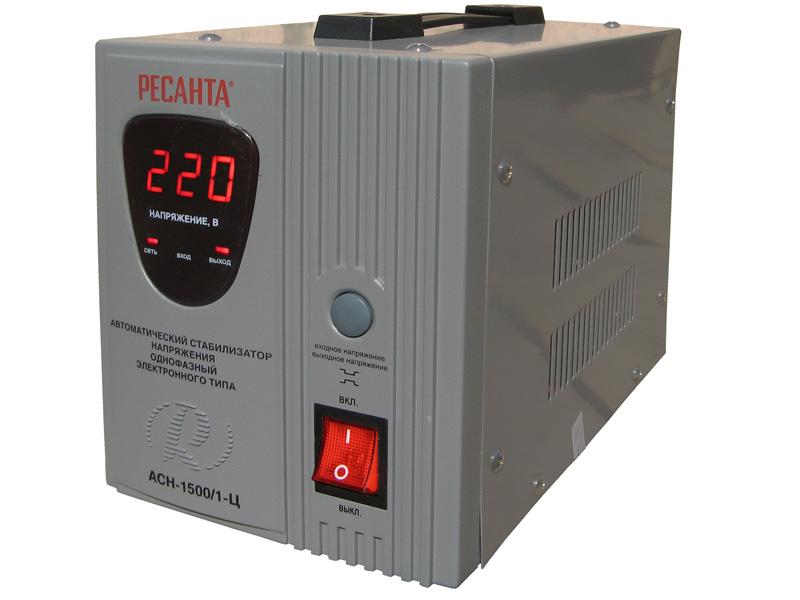 Стабилизатор АСН 1 500/1-Ц Ресанта