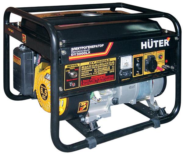 Генератор бензиновый  HUTER DY 3000 LХ эл.пуск