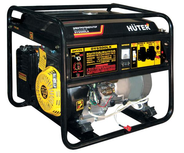 Генератор бензиновый DY6500LX HUTER эл. пуск