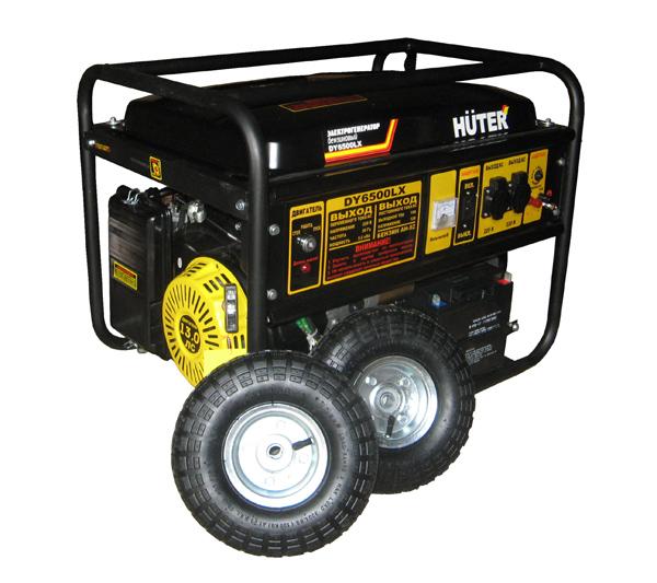 Генератор бензиновый DY6500 LX+ HUTER