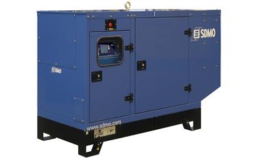 Генератор дизельный SDMO J66K в кожухе