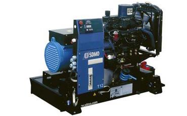 Генератор дизельный SDMO Pacific T12KM (открытый)