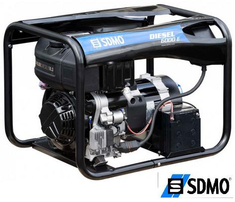 Генератор дизельный SDMO Diesel 6000E