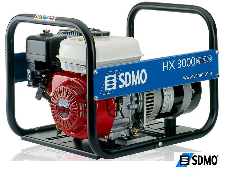 Генератор бензиновый SDMO Intens HX 3000 C