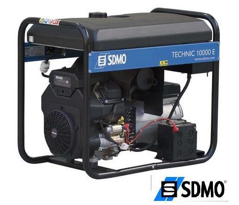 Генератор бензиновый SDMO Technic 10000 E