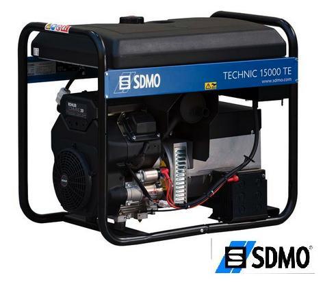 Генератор бензиновый SDMO Technic 15000TE c ABR