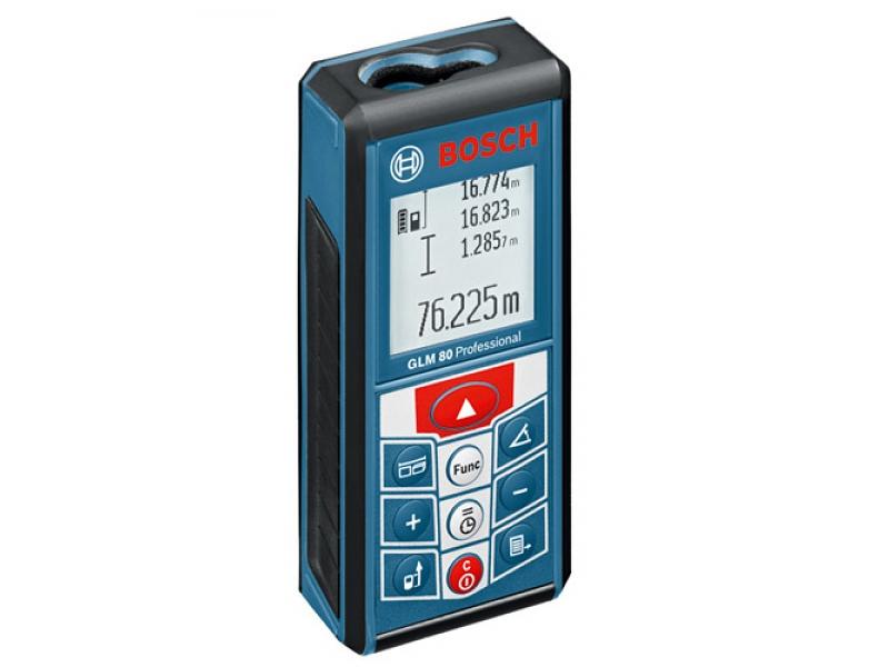 Лазерный измеритель длины GLM 80 Prof Bosch