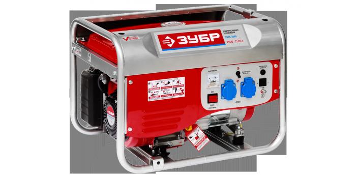 Генератор бензиновый ЗЭСБ -2500 Зубр