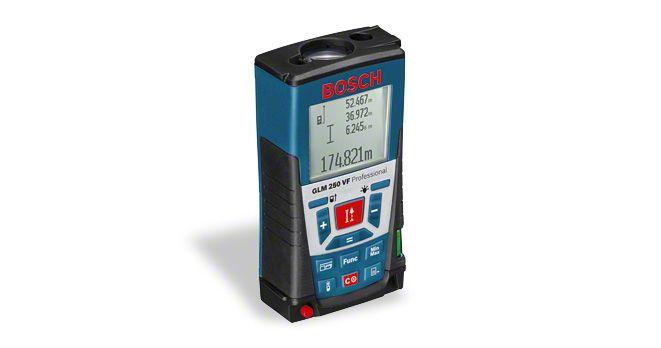 Лазерный измеритель длины GLM 250 VF Professional