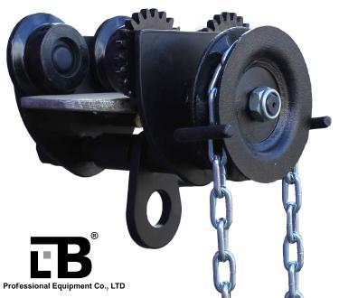 Тележка для тали с цепным приводом 1т / 3м  тип GCL610 LB Professional Equipment