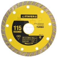 Алмазные круги TURBO Stayer