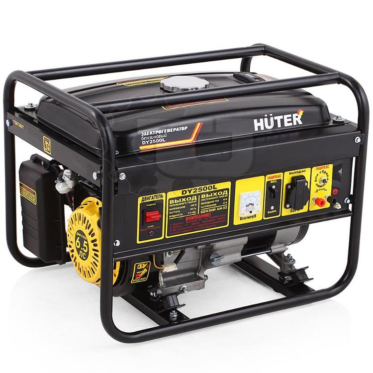 Генератор бензиновый DY2500L HUTER