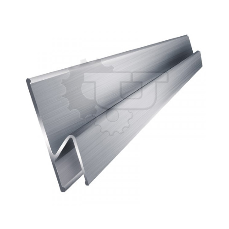 """Правило STAYER """"PROFI"""" алюминиевое, h-образный профиль, 1 м - 2,5 м"""