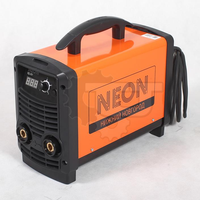 Сварочный аппарат NEON ВД 201 + МШУ REDVERG RD-AG91-125E в подарок!