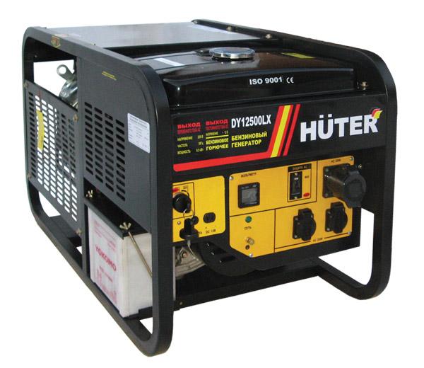Генератор бензиновый DY12500 LX HUTER