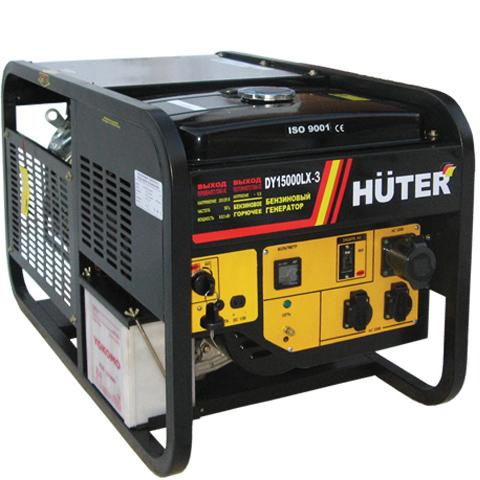 Генератор бензиновый DY15000 LX-3 HUTER