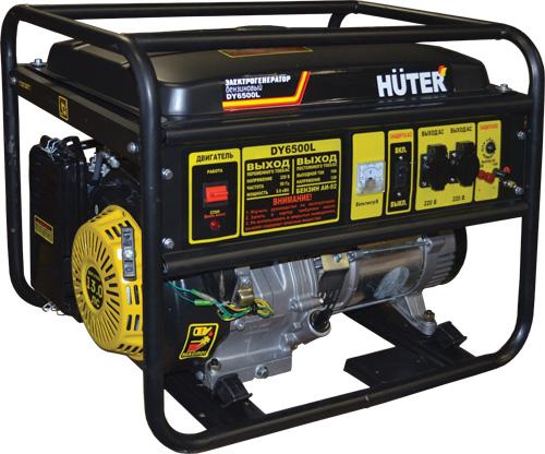 Генератор бензиновый DY6500L HUTER