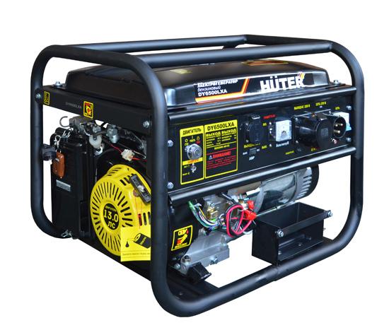 Генератор бензиновый DY6500LXA HUTER авто.пуск