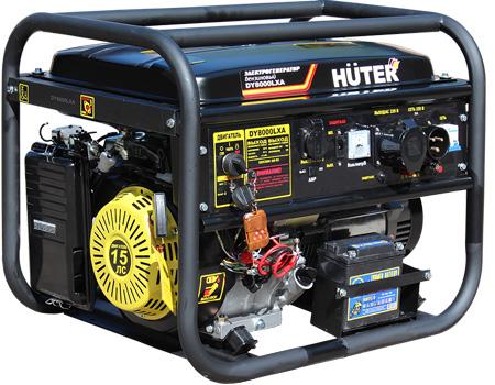Генератор бензиновый DY8000LXA HUTER  авто.пуск