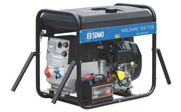 Сварочный генератор SDMO WELDARC 300TE