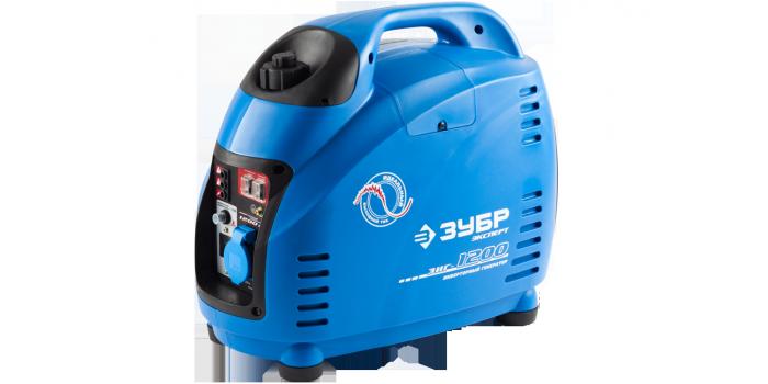 Бензиновый инверторный генератор ЗИГ-1200 Зубр