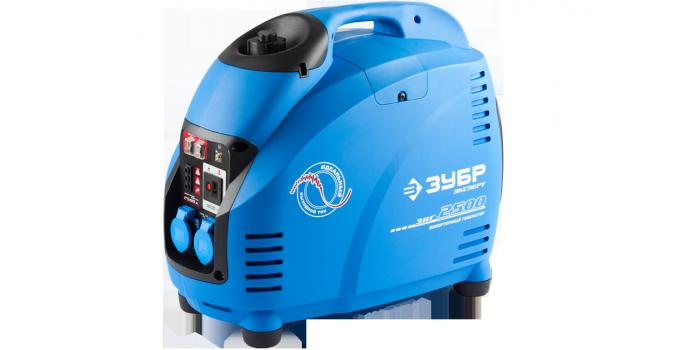 Бензиновый инверторный генератор ЗИГ-2500 Зубр