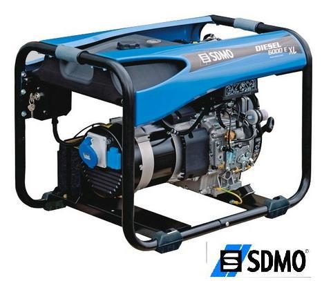 Генератор дизельный SDMO Diesel 6000EXL