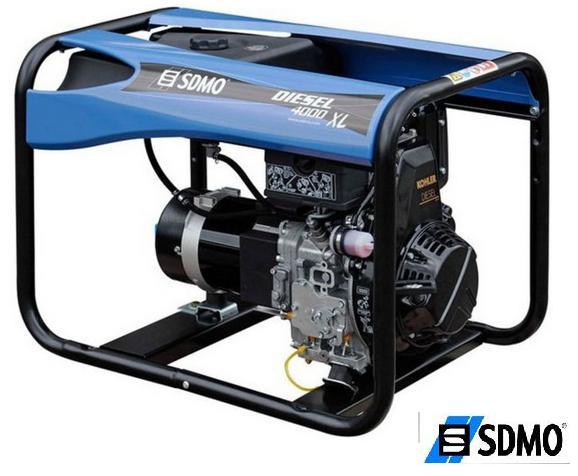 Генератор дизельный SDMO Diesel 4000EXL