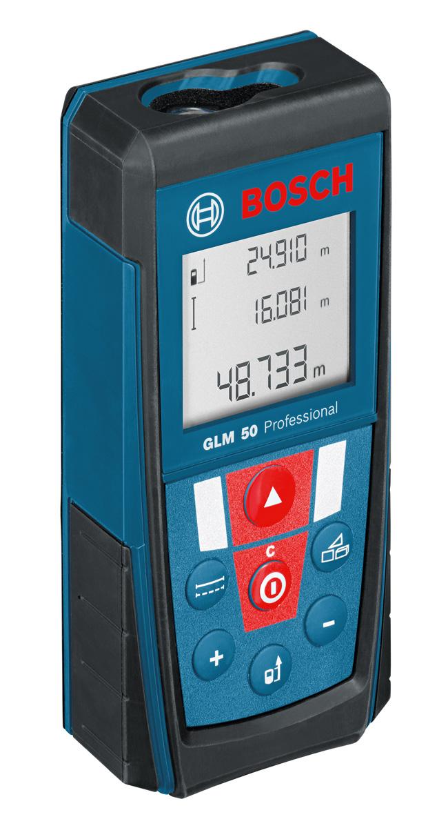 Лазерный измеритель длины GLM 50 Prof Bosch
