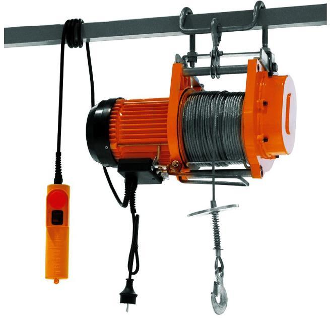 Мини электрическая таль 250 кг 60 м