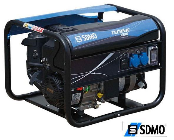 Генератор бензиновый SDMO Technic 3000