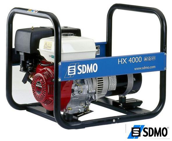 Генератор бензиновый SDMO Intens HX 4000C