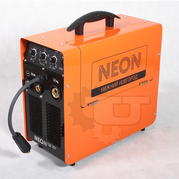 Сварочный аппарат NEON ПДГ - 201 + МШУ REDVERG RD-AG130-125ES в подарок!