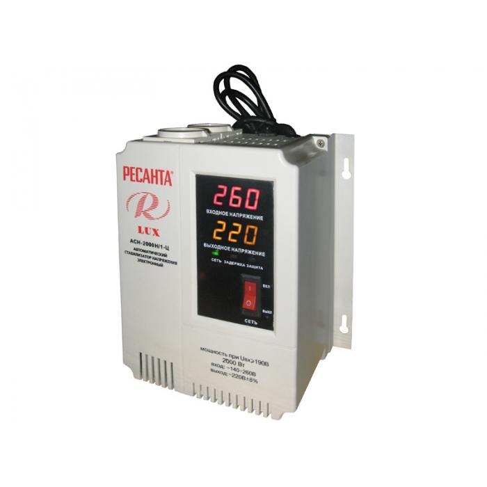 Стабилизатор АСН 2 000 Н/1-Ц Ресанта Lux